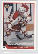 1993-94 Upper Deck #131 Paul Ranheim Calgary Flames Hockey Card
