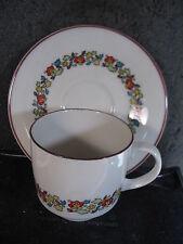 Royal Doulton Holiday Cup And Saucer Set tc1110