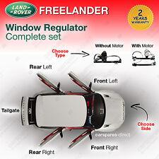 Land Rover Freelander Elevalunas delantero/TRASERO IZQUIERDO/DERECHO 1998>2006