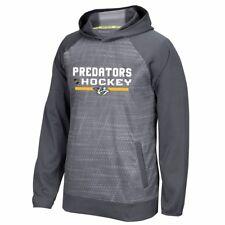 Nashville Predators Reebok Center Ice TNT Authentic Locker Pullover Hoodie Men's