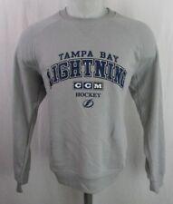Tampa Bay Lightning Men's CCM Gray Sweatshirt NHL M, L, XL