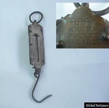 WW2 GERMAN VINTAGE POCKET BALANCE SCALE - KRUPS