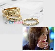 Korean Drama Missing You Yoon Hye Knuckle Midi 3 Ring Set I Miss You JYJ Yoochun