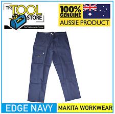 Makita Workwear Edge Navy Trousers