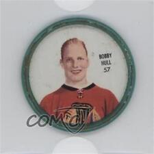 1962-63 Shirriff Coins #57 Bobby Hull Chicago Blackhawks Hockey Card
