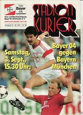 BL 88/89 Bayer 04 Leverkusen - FC Bayern München