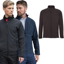 Brookes Mens Pro 2 Layer Workwear Softshell Jacket