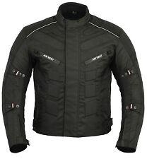 ProFirst Mens Motorcycle Waterproof Cordura Jacket Motorbike Textile CE Armoured