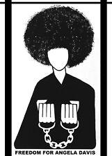 Civil Right Political Poster.Freedom Angela Davis.Home Interior art design.1404