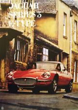 Jaguar Series 3 'E' Type Poster Picture Print
