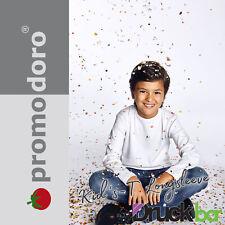 Promodoro Kid`s-T Longsleeve | 195 | Kinder Langarm T- Shirt Textildruck