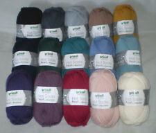 (7,90 €/ 100gr) 50 gr Hot Socks Pearl Uni Classy Yarn with Cashmere 4 Thread
