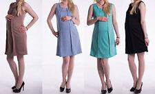NEU Super schön Sommer Kleid Umstandskleid M L 38 40 Ärmellos