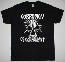 Corrosion Of Conformity Eye For An Eye Skull Crossover Thrash NEW Black T-Shirt