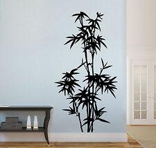 Wandaufkleber: Bambus Strauch/Stamm - Asien China Bad Wohnzimmer Flur WandTattoo