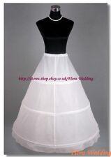 3-HOOP WEDDING/PROM PETTICOAT/UNDERSKIRT/CRINOLINE,S-XL