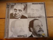 20th Century Maestros Serge Koussevitzky Pierre Monteux