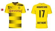 Trikot Puma Borussia Dortmund 2017-2018 Home - Aubameyang [128-XXL] BVB Fussball