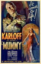 140608 The MUMMY Boris Karloff Horror Universal Monsters Poster Print Affiche