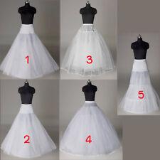 fad444c6256e 5 Cerceau Blanc Jupon Crinoline Mariage Voile Robe de Mariée Soirée  Petticoat
