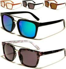2b9a2454ed NIÑOS Gafas Sol Diseñador Parte Superior Plana Brow Bar Espejo Uv400  Infantil