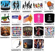 Basketball Lampshades Ideal To Match Basketball Wall Murals NBA Wallpaper Border