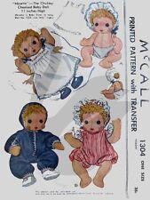 Reproducción Vintage Ninette & Nina Chubby mejillas patrón de costura m1304 & M1225