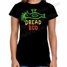 LADIES Dread Bod t-shirt Hull Pongo Rasta Clem Wear banksy culture DEAD reggae