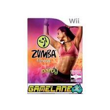WII ZUMBA FITNESS juego solamente no Cinturón Free UK Post NINTENDO Get Fit