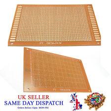 Soldadura de cobre revestido de una sola cara placa de circuito PCB Baquelita 9 cm X 15 Cm