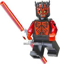 LEGO STAR WARS - DARTH MAUL FIGURE + DUAL LIGHTSABER - FAST + GIFT - 2012 - NEW