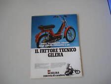 advertising Pubblicità 1981 GILERA CBA 50