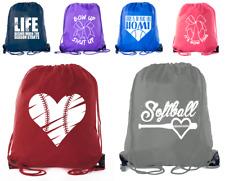 Mato & Hash Girls Softball Bags Tournament Team Gifts Birthday Goodie Bags