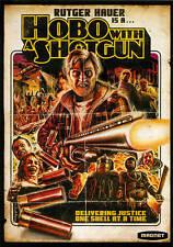 Hobo with a Shotgun DVD Brand New Rutger Hauer Exploitation Gore