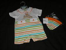 Ropa para bebé niño Romaní Mameluco Sombrero a Rayas recién nacidos 0-3 meses poco-Milagros