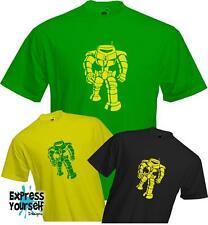 MANBOT - Sheldon Cooper - Big Bang Theory - Quality T Shirt - *NEW*