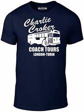 Charlie Croker Coach Tour T-shirt di ispirazione dal job ITALIANO MICHAEL CAINE