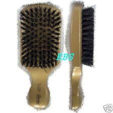 hard club BOAR BRISTLE WAVE HAIR BRUSH gold color pik--
