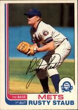 1982 O-Pee-Chee Baseball #270 - #396 - Choose Your Cards