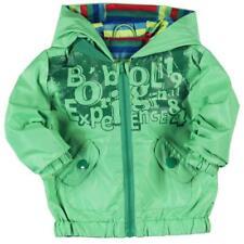 Boboli girare la giacca antipioggia verde/a righe tg. 74 - 92