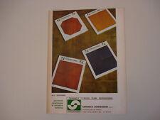 advertising Pubblicità 1973 CERAMICA SERENISSIMA