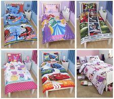 Official Kids Disney + Character Single Duvet Covers - Children's Bedding Sets