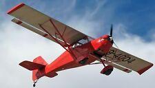Kitfox Classic IV Ultralight Airplane Wood Model FS New