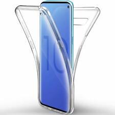 Housse Coque Silicone 360 Intégral transparent Samsung Galaxy S10/S10 PLUS/S10E