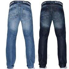 Crosshatch Vaqueros Hombre Corte Recto Marca De Diseño Niños Pantalones Elegante
