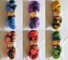 LACE 600  -  Ferner Wolle  -  Garn  -  100g  -  handgefärbt  -