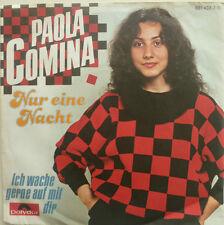 """7"""" 1984 RARE ! PAOLA CAMINA : Nur eine Nacht /MINT-"""