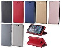 Smart Magnet Handy Tasche Book Cover Panzerglas 9H für LG Smartphone
