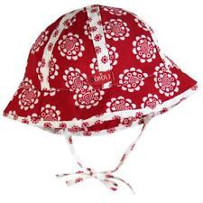 bóboli fille chapeau protège-soleil Fleurs Rouge gr. 42 / XXS 46/XS