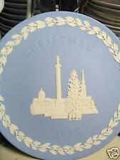 Wedgwood 1970 Annual Trafalger Square Jasperware Plate w/ box